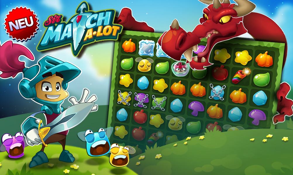 Sir Match-a-Lot jetzt auf iOS und Android erhältlich!