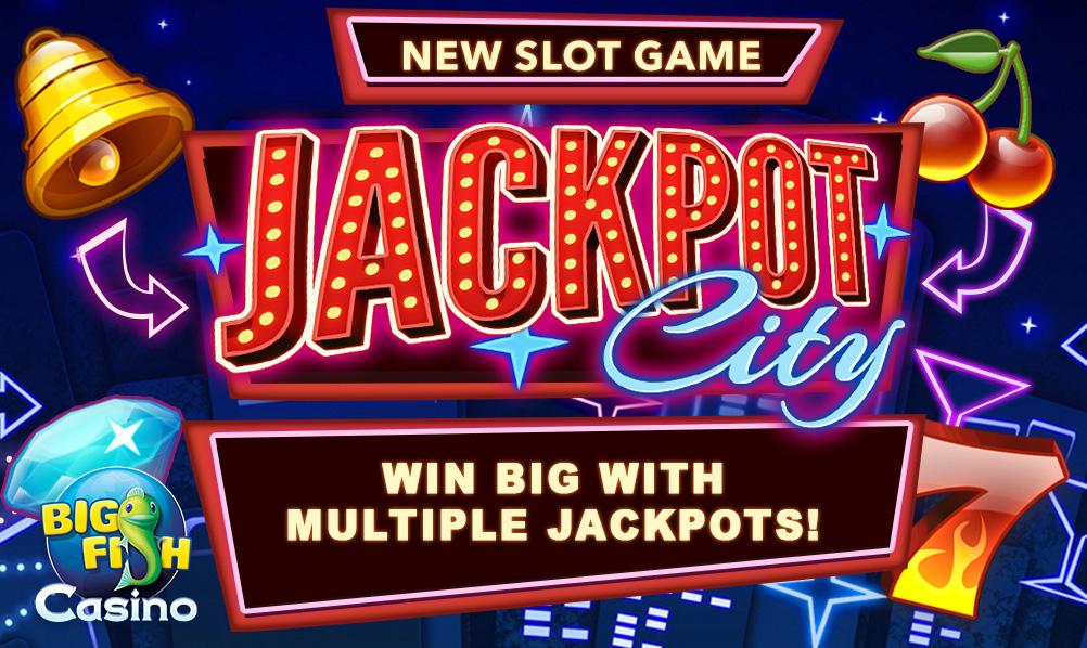 Play free for Jackpot city big fish